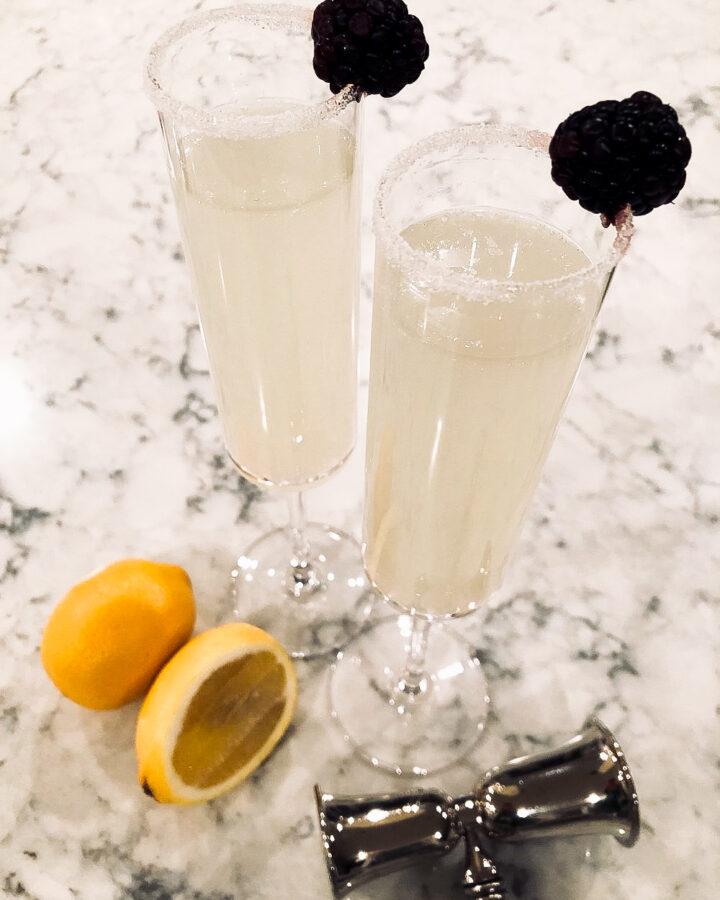Ginger-Lemon-Cocktail