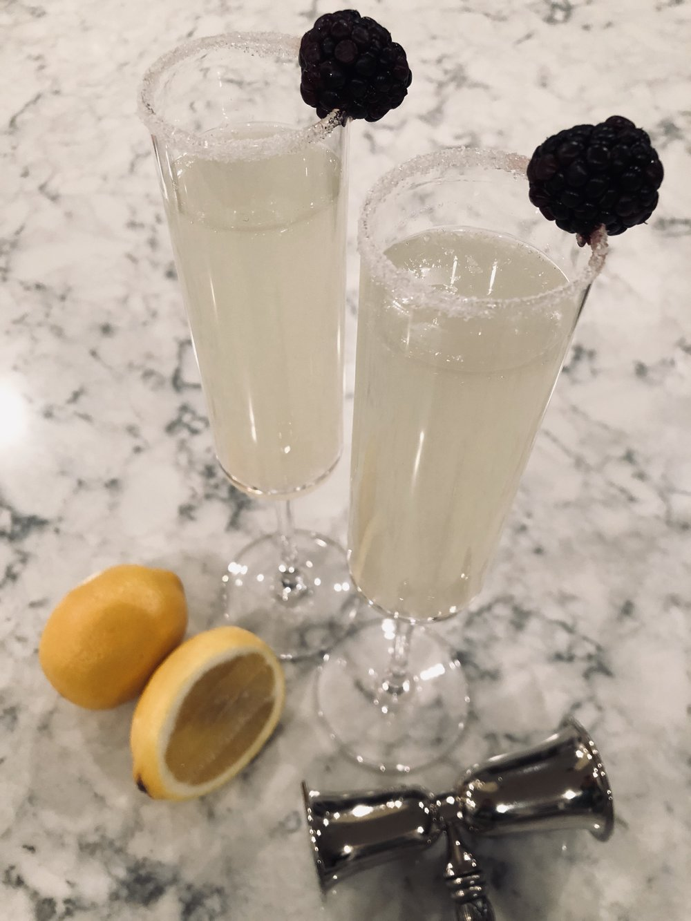 DeSocio in the Kitchen Ginger Lemon Cocktail