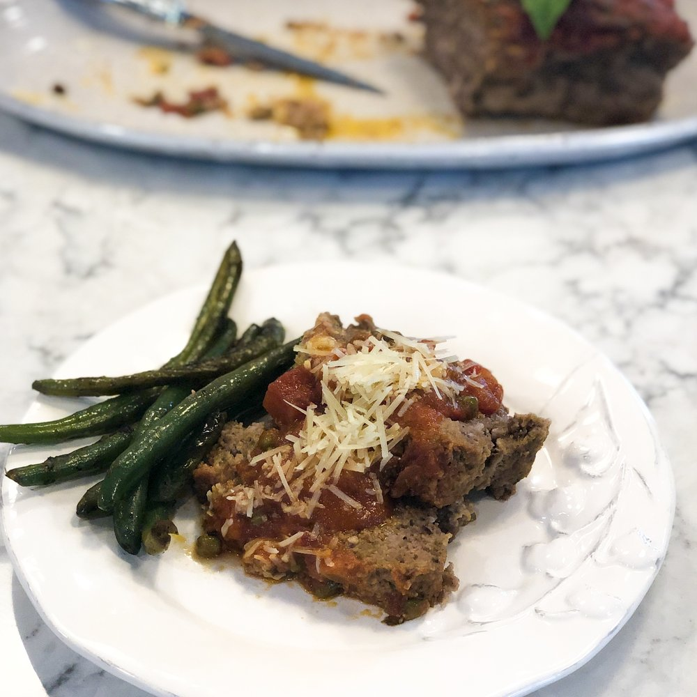 DeSocio+in+the+Kitchen+Italian+meatloaf