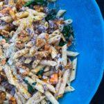 Giada+Butternut+sausage+goat+cheese+pasta