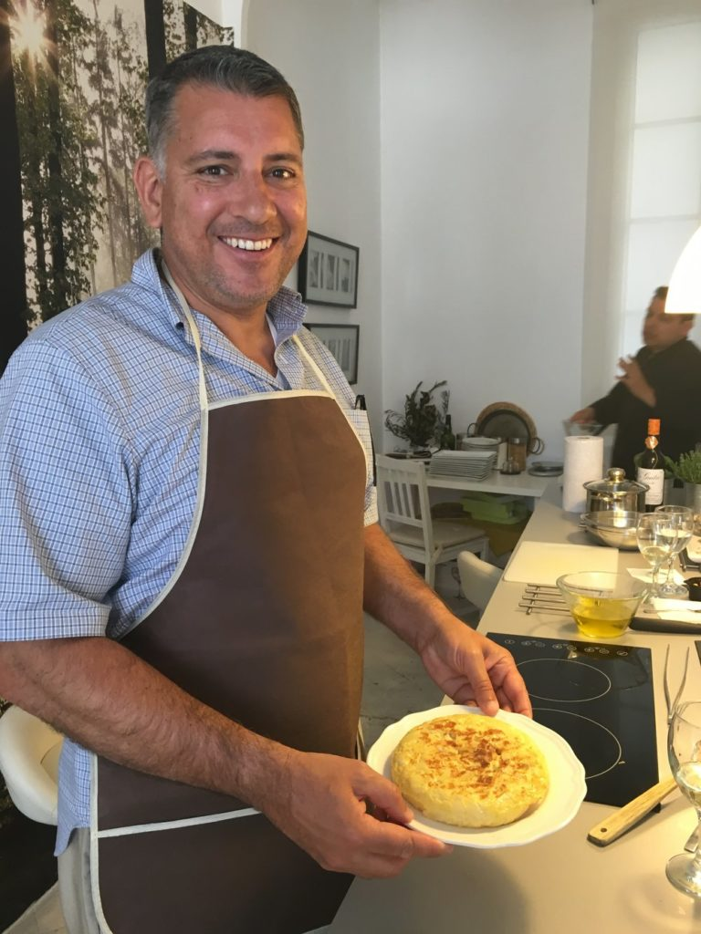 DeSocio in the Kitchen Spain Cooking Class Royal BCN