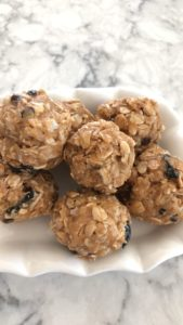 Peanut Butter Protein Energy Bites