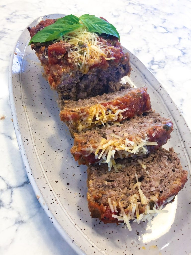 Meatloaf+Italian+Style