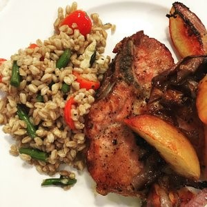 Peach Pork Chop