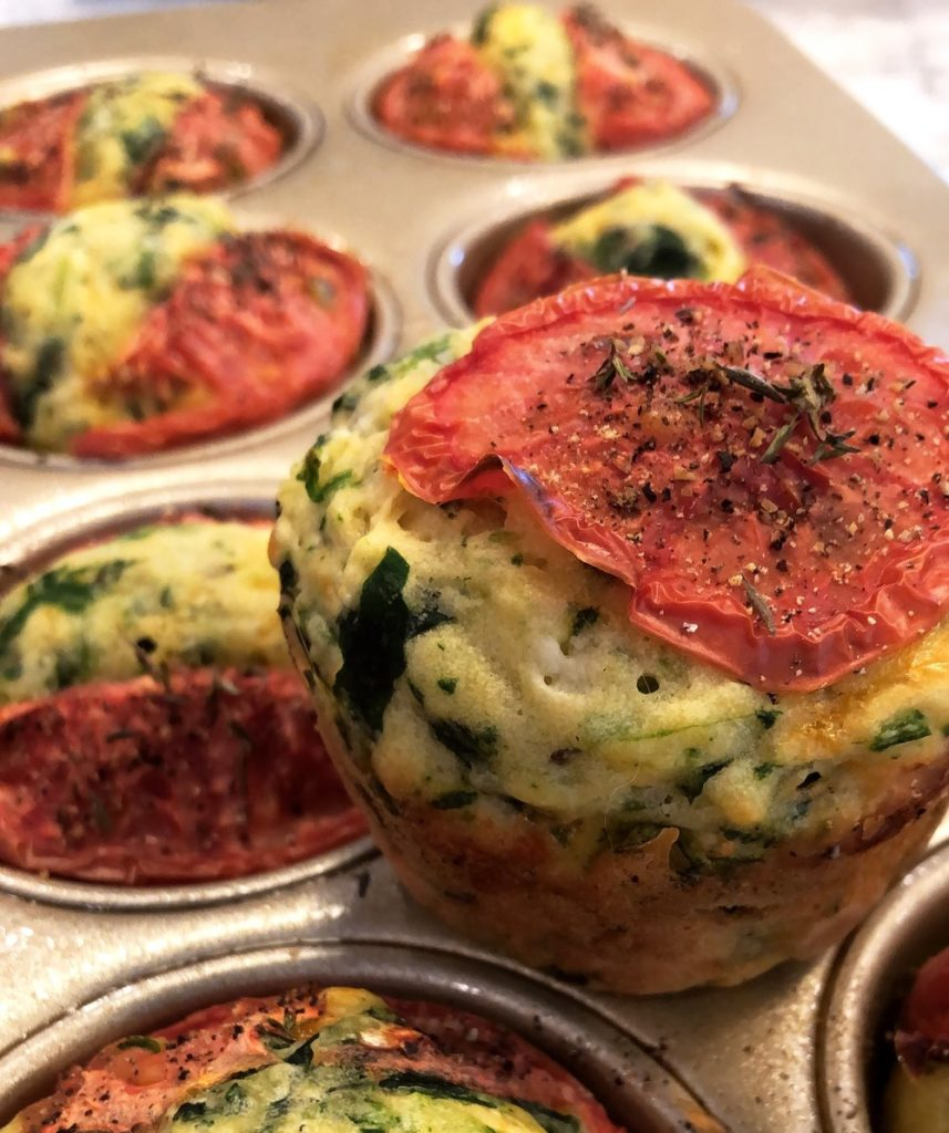 Spinach+Muffins+Feta+Thyme+tomato