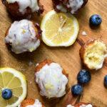 Blueberry Lemon Ricotta Fritters