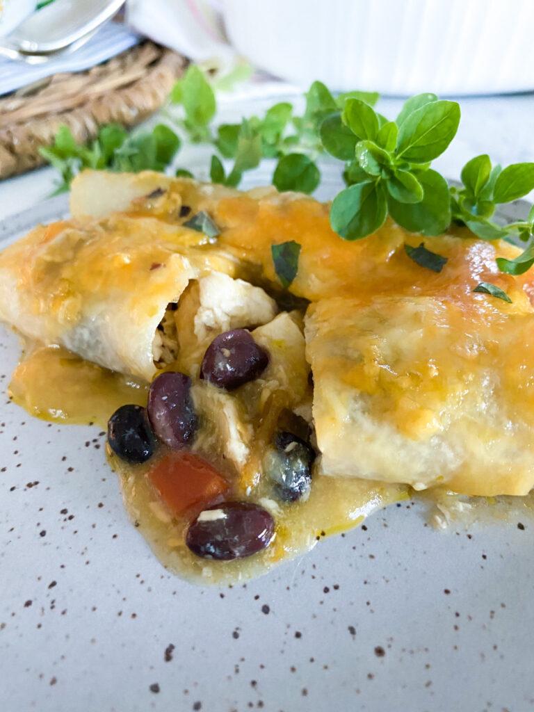 Jicama Chicken Enchiladas_2