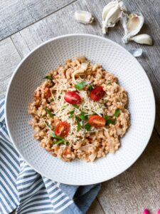 FARRO with TOMATOES - DeSocio in the Kitchen_2