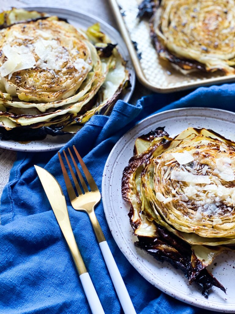 ROASTED CABBAGE STEAK