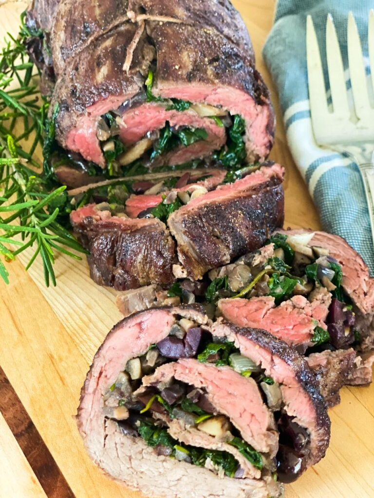 Stuffed Beef Tenderloin