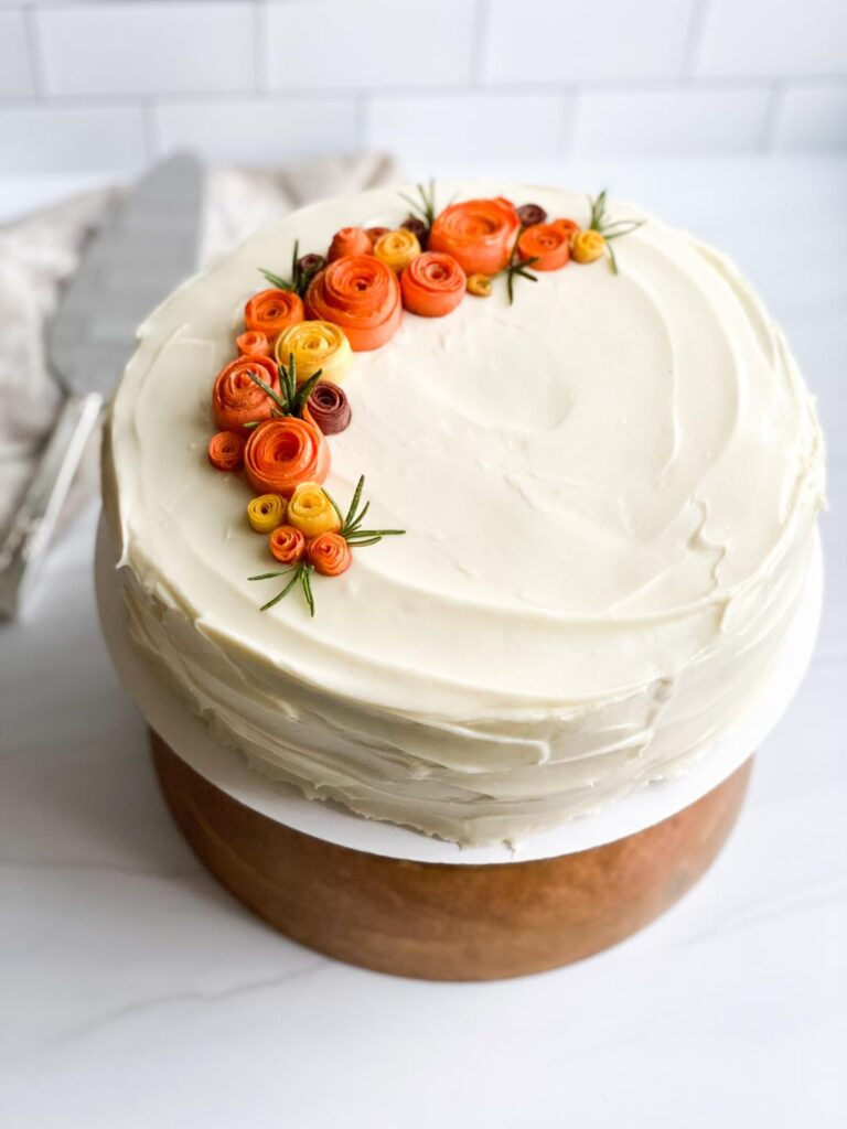 Traditional Easy  Delicious Carrot Cake