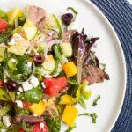 Mango-Watermelon-Steak-Salad